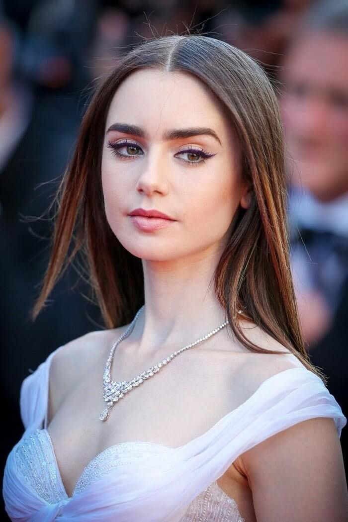 Lily Collins. 700x1050 - Lily Collins.